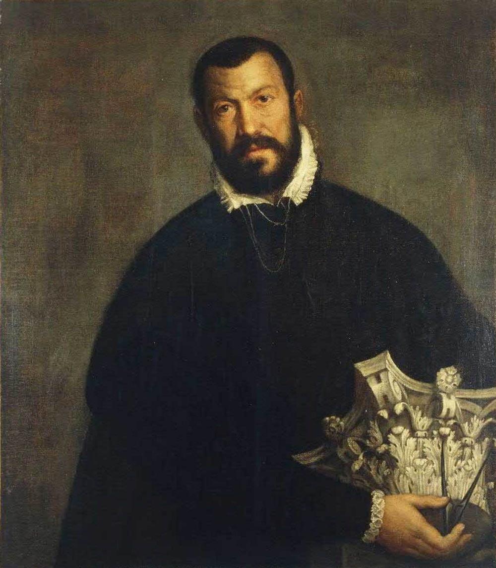 Paolo Veronese: Ritratto dell'architetto Vincenzo Scamozzi